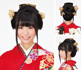 振袖髪型・ヘアスタイルコレクション , 振袖コレクション館