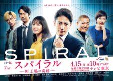 玉木宏さん主演ドラマ『スパイラル~町工場の奇跡~』に衣裳提供させていただきました!
